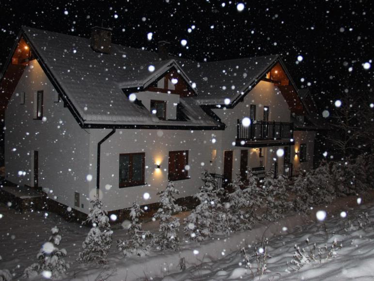 Gdy śnieg pruszy
