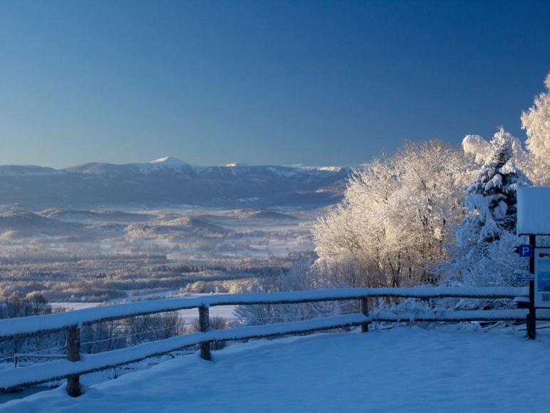 Zima w Górach Kaczawskich