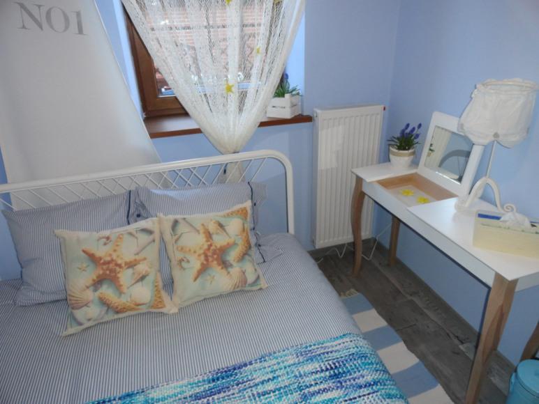 Apartamenty w Jastarni Jastarenkowa plaża sypialnia