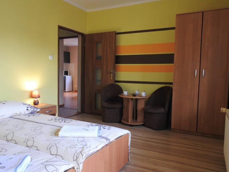 sypialnia apartamentu