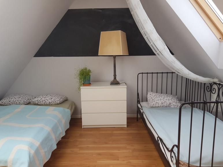 Sypialnia 1 - poddasze