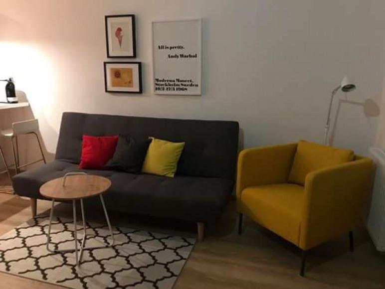 """Apartament """"Żółty""""/ """"Gelbes"""" Appartement"""
