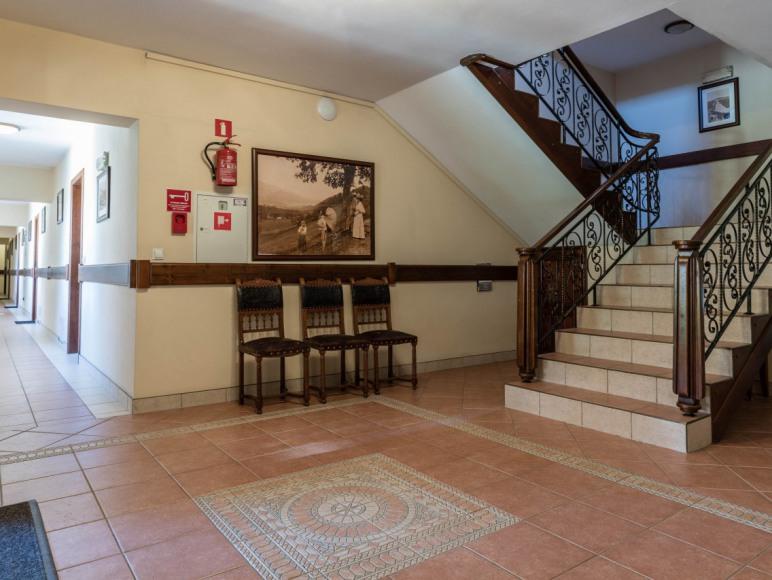 korytarz w budynku