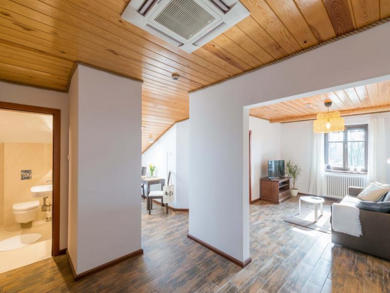 Mieszkanie 4-osobowe - widok mieszkania