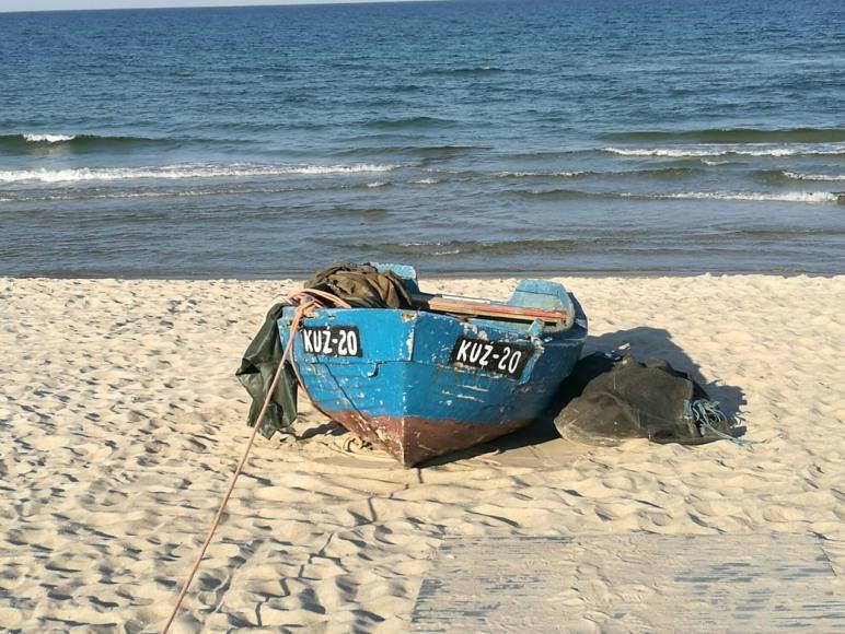 zejscie na plaze