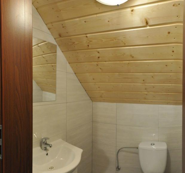 Domki nr 1-5 łazienka górna