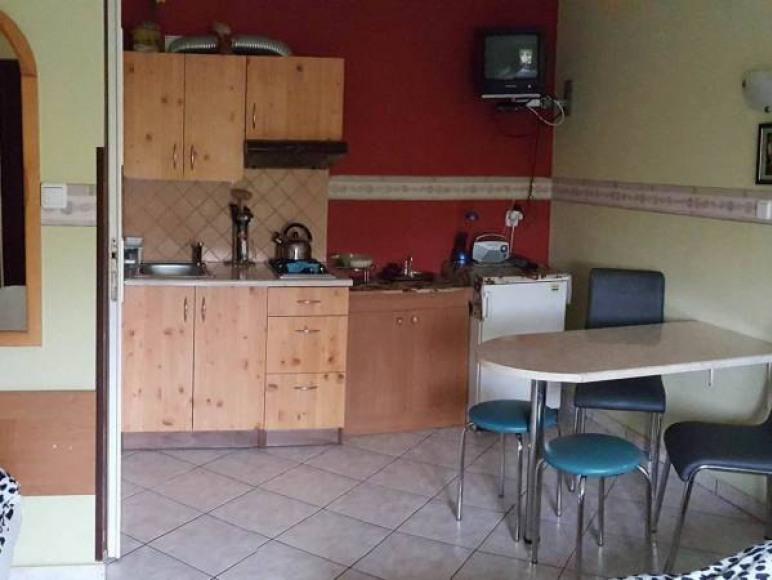 kuchnia w pokoju u Dominiki