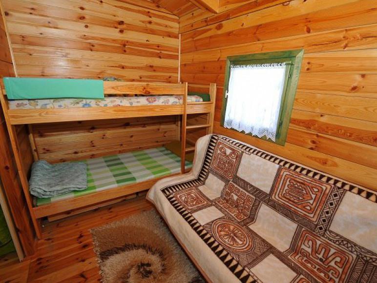 Domek typ II sypialnia
