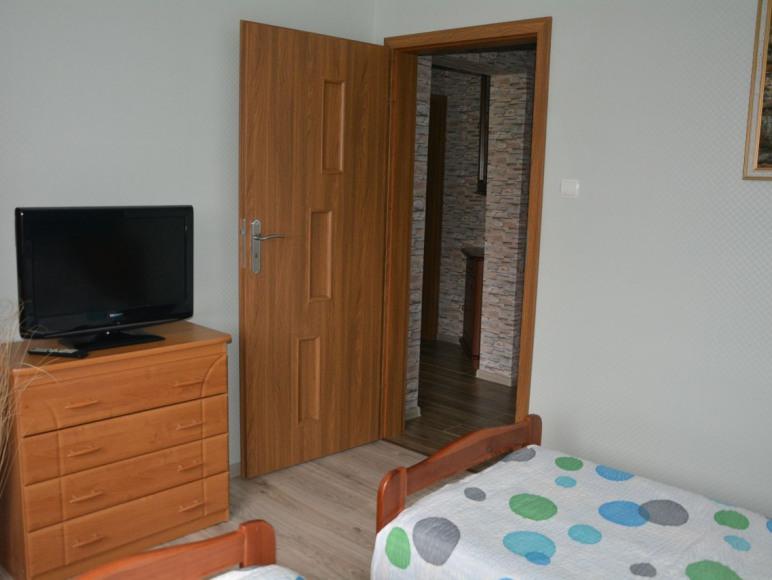 Pokój nr.2 - dwupokojowy,4 osobowy z łazienka,przedpokojem,balkonem.