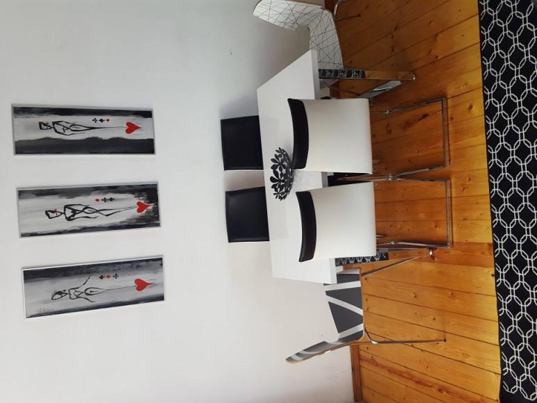 Salon w apartamencie