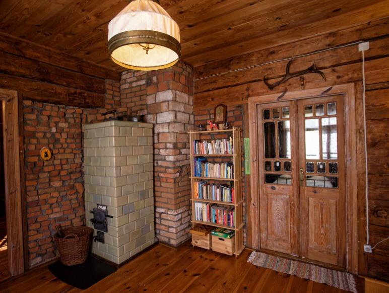 Leśniczówka - sypialnia w amfiladzie