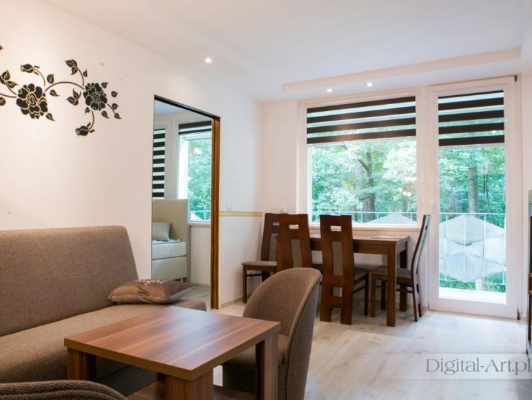 apartament 112, dwa pokoje, balkon na Park Leśny