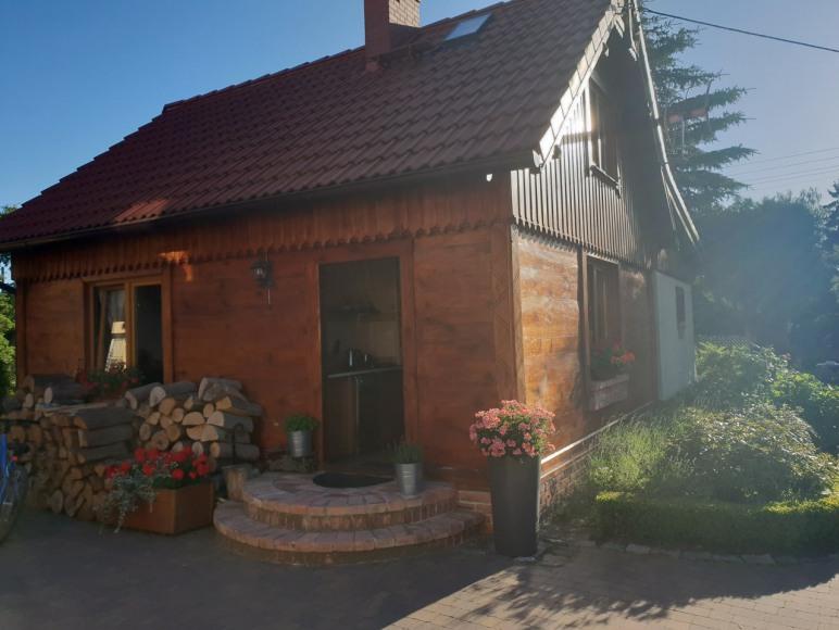 Stary Domek - Widok Wejście