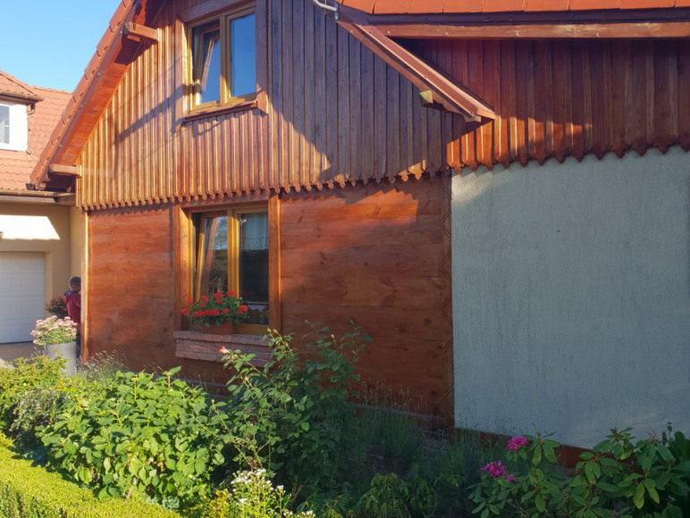 Stary Domek - Widok z zewnątrz