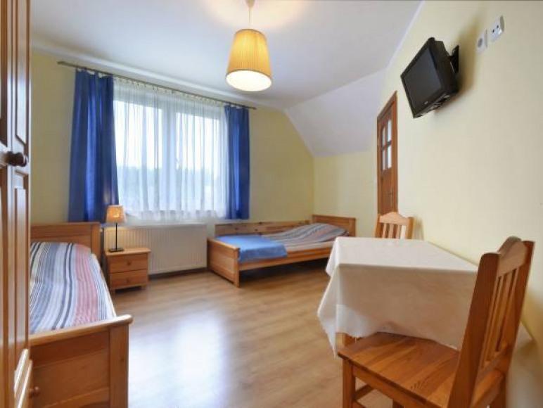 pokój 2-os dwa pojedyncze łóżka