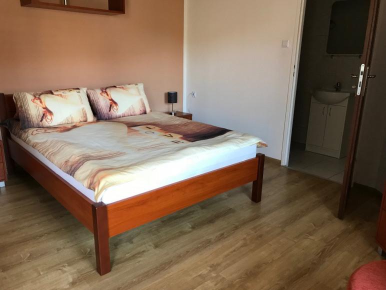 Sypialnia w pokoju 4-osobowym