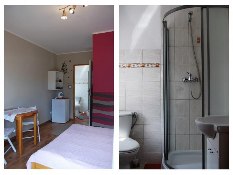 Pokój 2os. z łazienką i balkonem