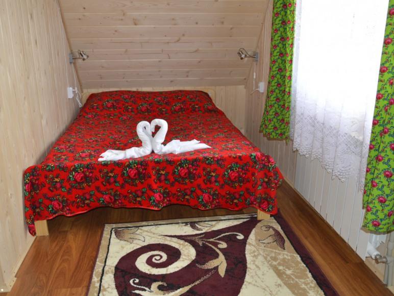 sypialnia 2osobowa w domku apartamencie