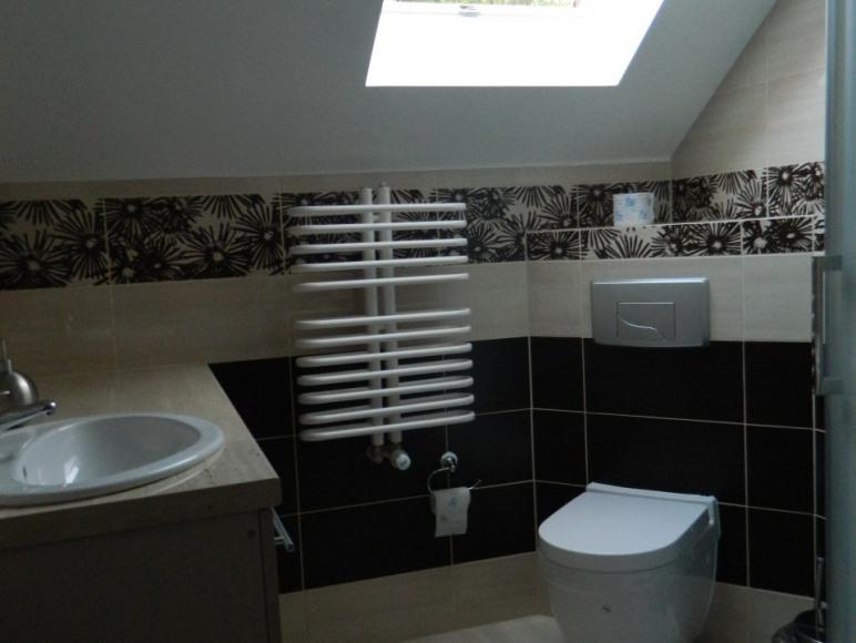 łazienka na korytarzu