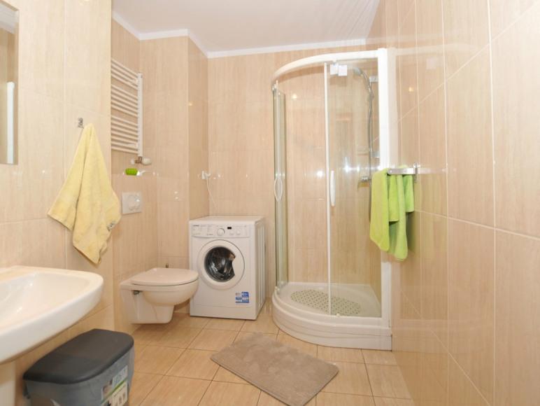 Apartament dwupokojowy łazienka