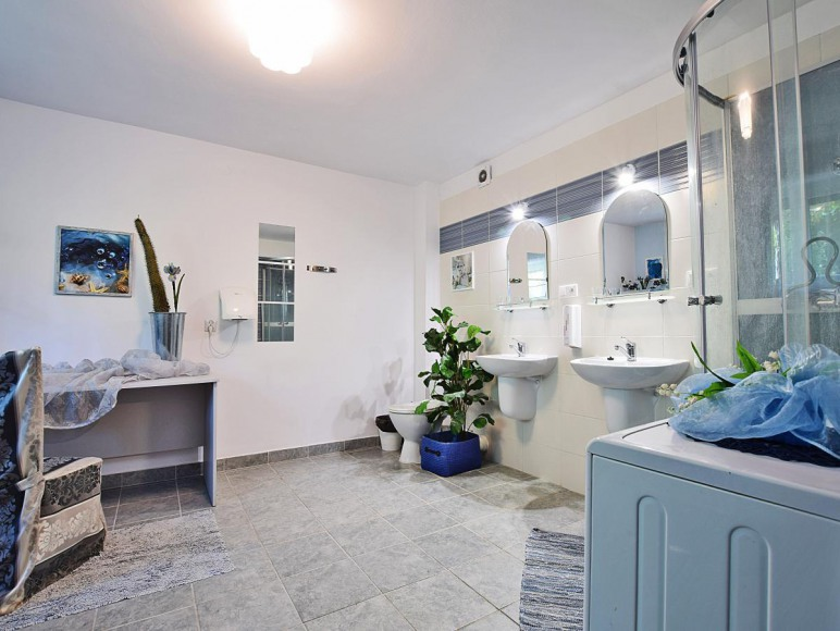 Łazienka w studio Powiew Błękitu