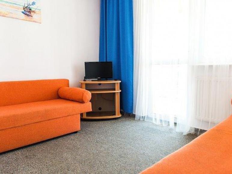 apartament - pokój dzienny