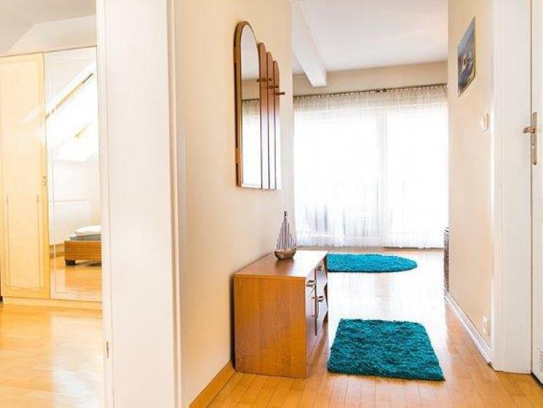 apartament LUX - wejście