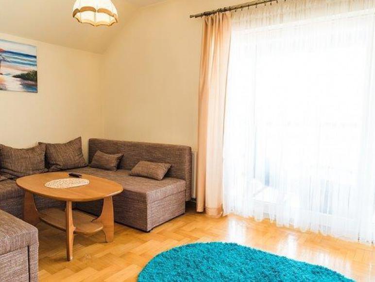 apartament LUX - pokój dzienny
