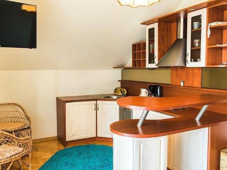 apartament LUX - kuchnia