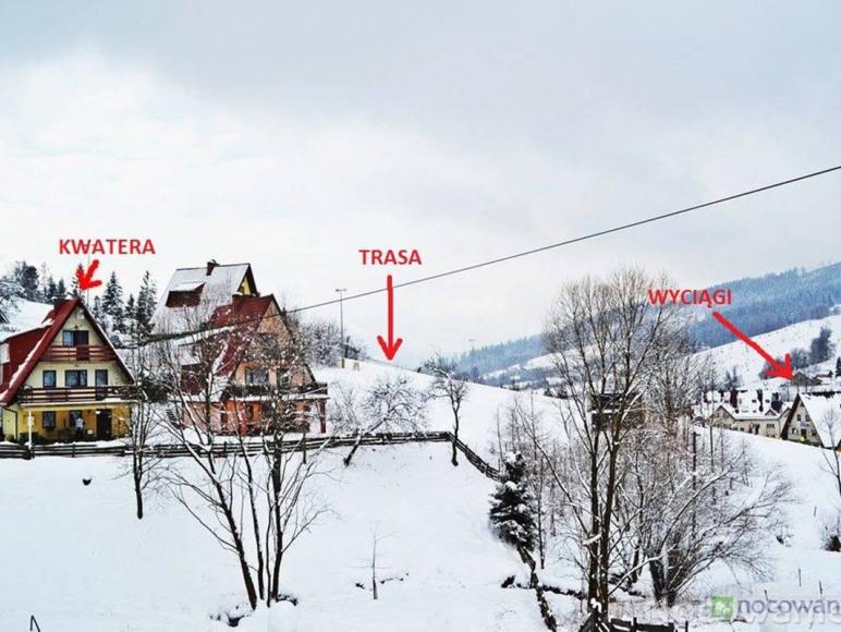 widok trasy i domu