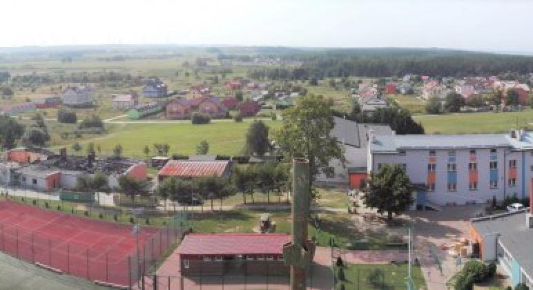 Panorama Jarosławca z Latarnii Morskiej