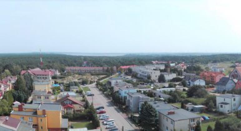 Panorama Jarosławca z Latarnii