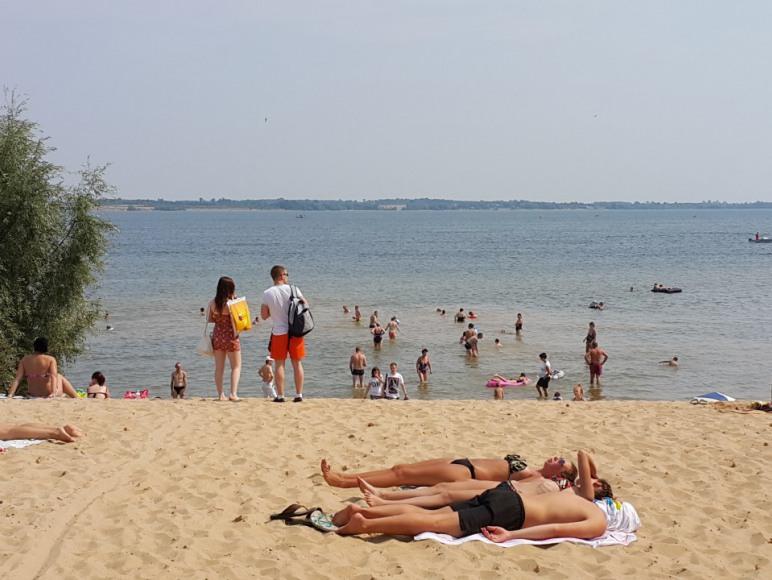 Plaża w ośrodku