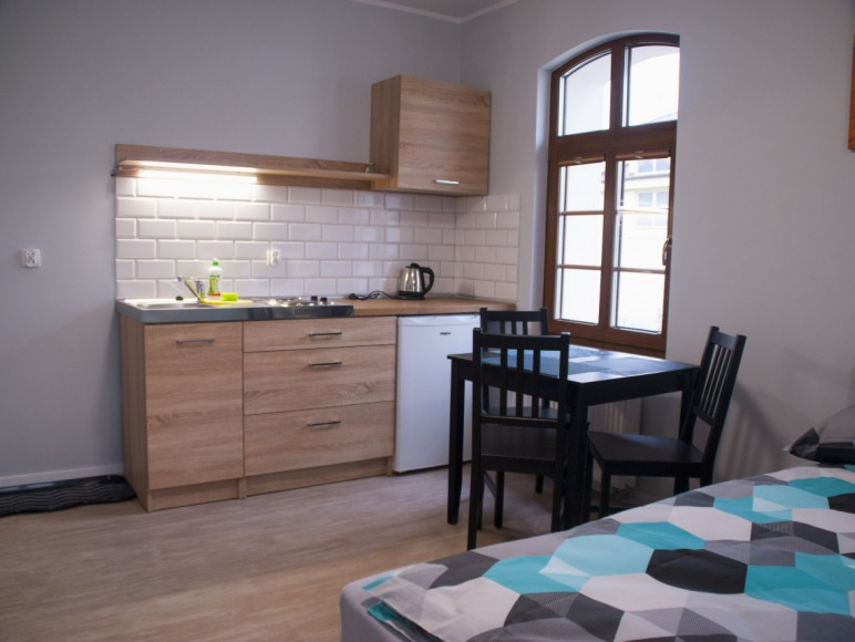 kuchnia w pokoju 3 osobowym