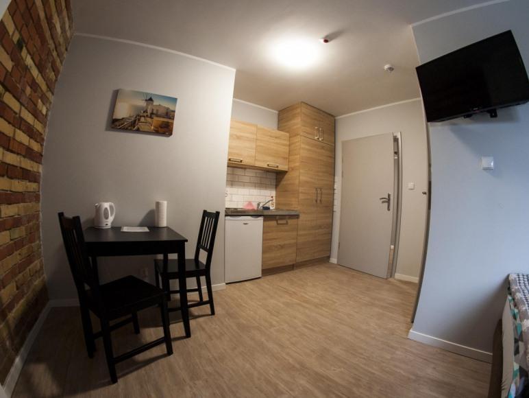 kuchnia w pokoju 2 osobowym