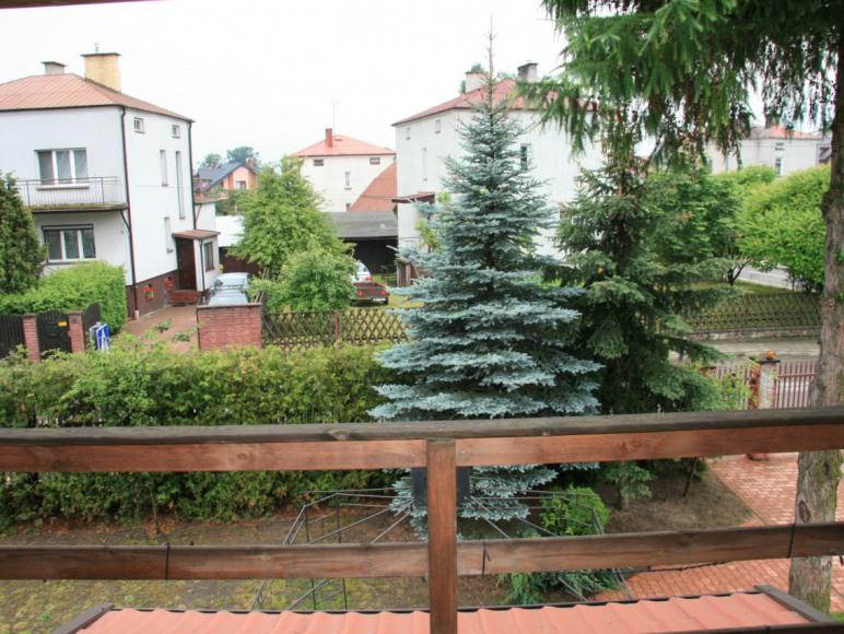 Apartament widok z balkonu