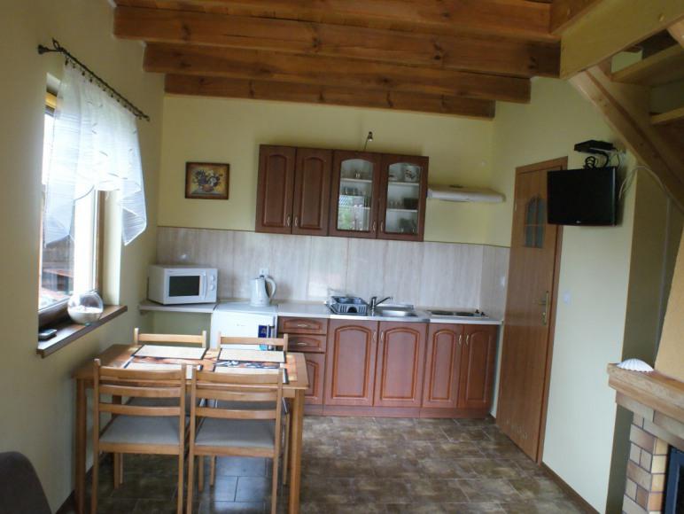Salon z aneksem kuchennym - domek nr 2,3,4