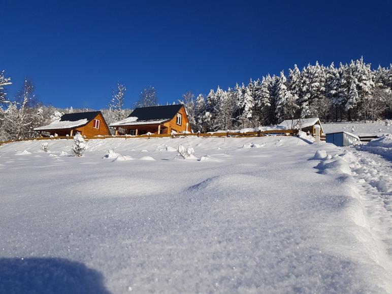 Osada Tre Case, domki i pokoje w Bieszczadach