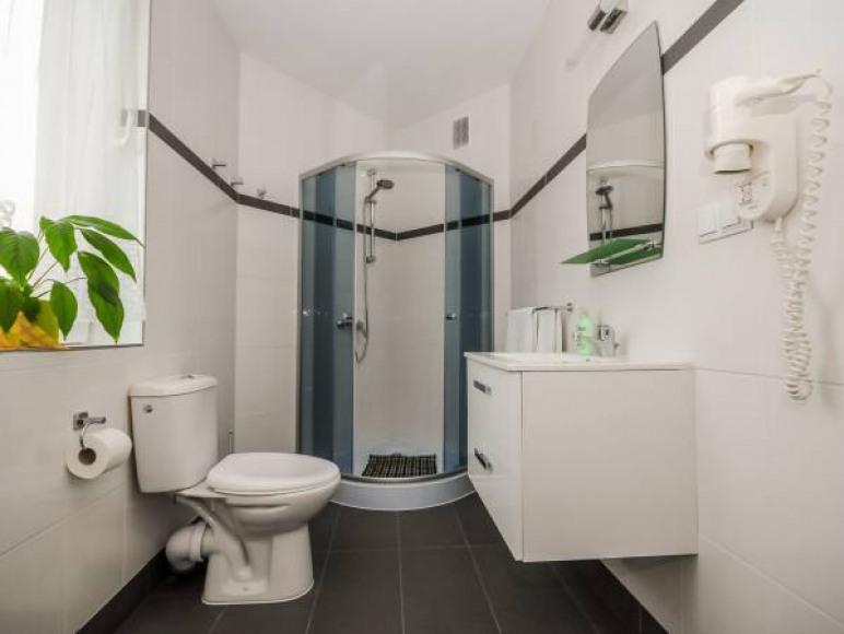 apartament 55 m łazienka
