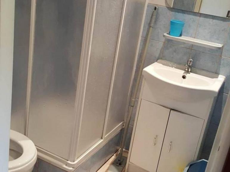 łazienka w pokoju Dominika