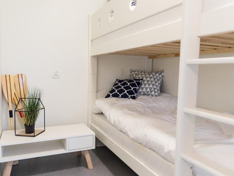 Sypialnia z łóżkiem piętrowym