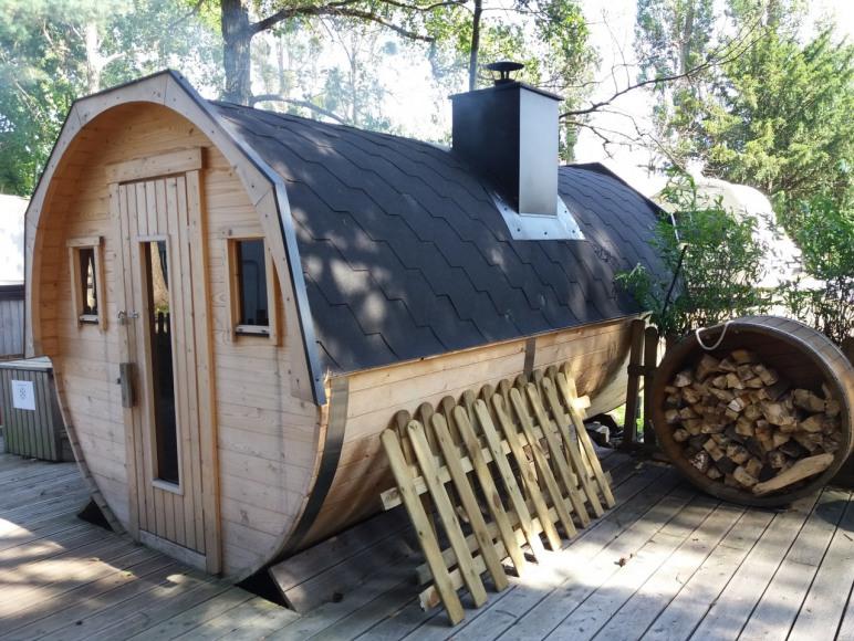 Sauna w Garden SPA