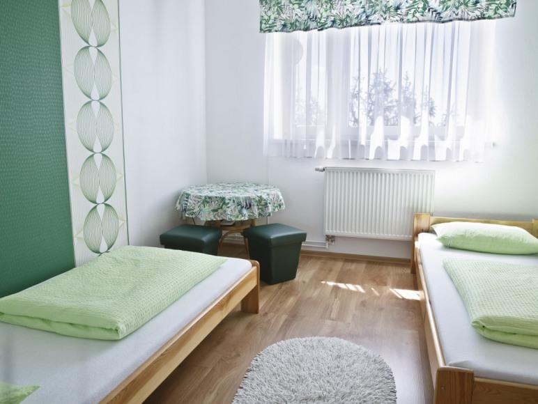 Apartament Pantera - sypialnia