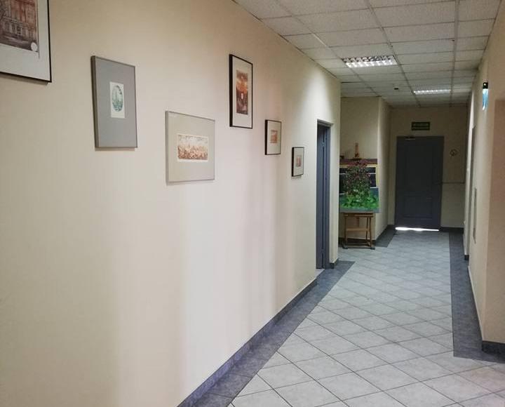 willa ambasador korytarz