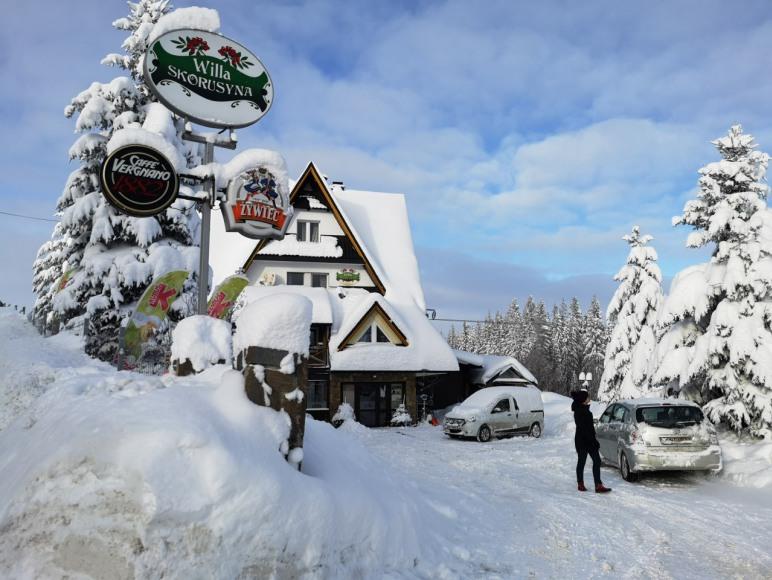 obiekt zimą