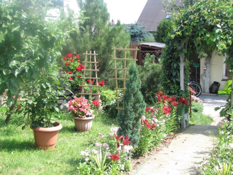 Apartament Słoneczna 3 Ogród za domem