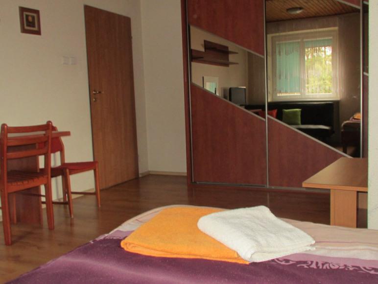 Pokój na piętrze 4 os. 2+2
