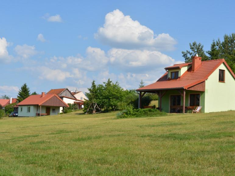Domki i pokoje nad samym jeziorem - Mazury