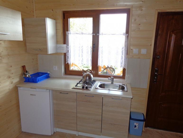 "domki drewniane ""Arleta"""