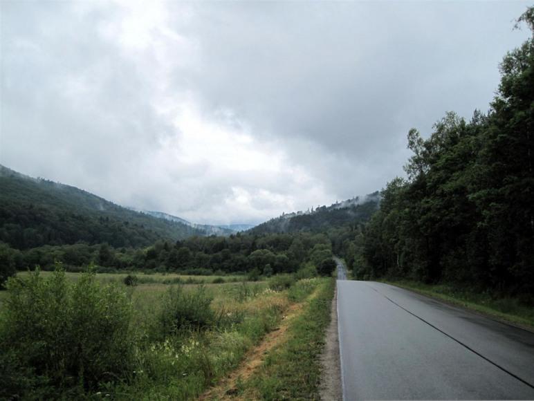 Droga do Jaślisk